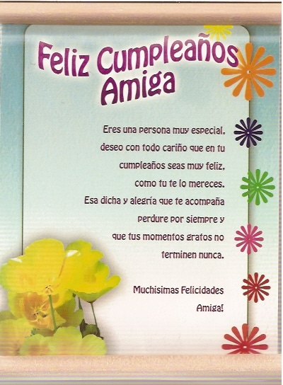 Carta De Feliz Cumpleanos Para Una Amiga.Felicitaciones De Cumpleanos Dedica Frases De Cumpleanos