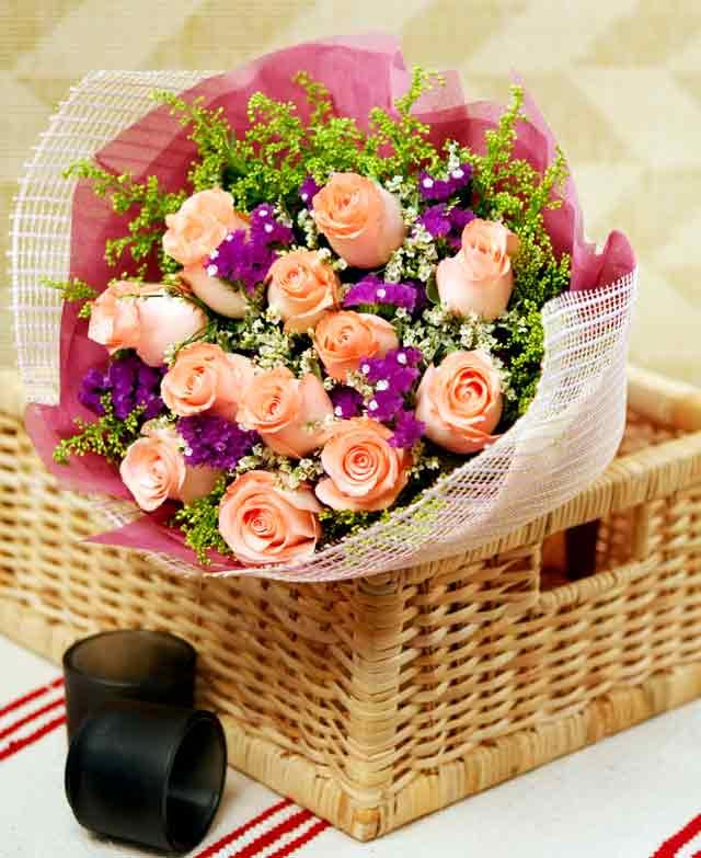 Las flores y chocolates no pasan de moda