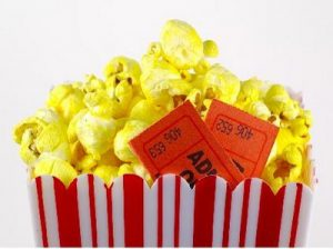 Felicitaciones de cumpleaños y regalar entradas de cine