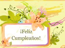 Felicitaciones de cumpleaños presenta los deseos