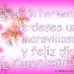Felicitaciones de cumpleaños para hermanas/os