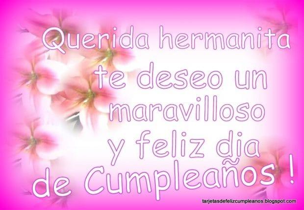 felicitaciones de cumpleaños para hermanasos