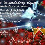 Mensaje de Navidad para compartir en Facebook.