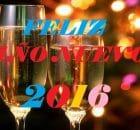 Feliz año nuevo 2016 en pareja