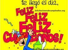Famosos cumplen años hoy, felicitaciones de cumpleaños originales y divertidas